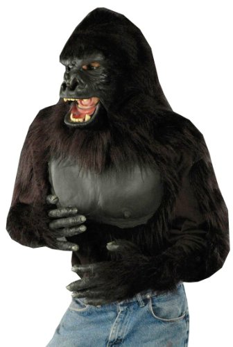 Adult Gorilla Shirt (White Gorilla Costume)