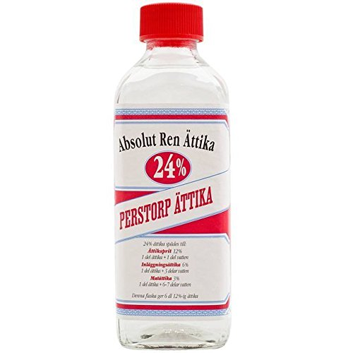 Price comparison product image Perstorp Attika 24% - Acetic Vinegar for Pickling - 300ml