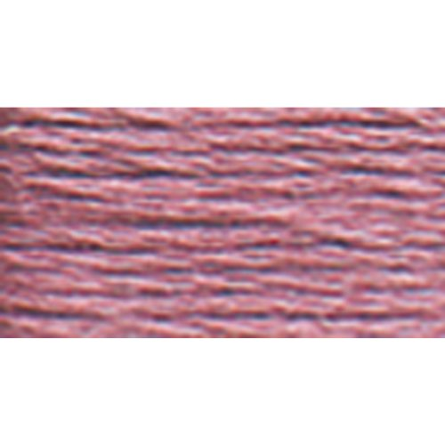 DMC 117-316 Mouline Stranded Cotton Six Strand Embroidery Floss Thread, Medium Antique Mauve, 8.7-Yard (Floss Dmc Antique)