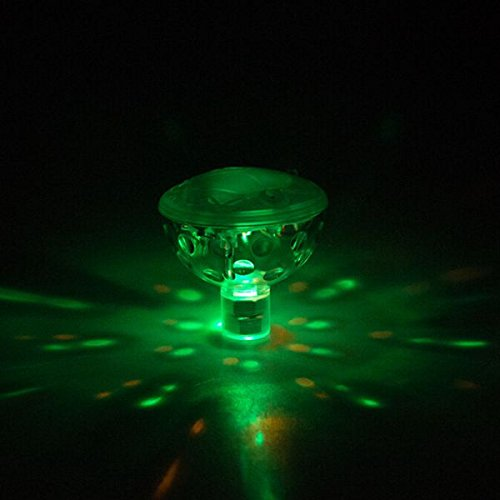 Hitommy Floating Under Water LED Disco AquaGlow Light Show Swimming Pool Hot Tub Spa Lamp by Hitommy (Image #2)