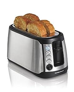 Hamilton Beach 4-Slice Long Slot Keep Warm Toaster (24810