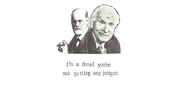 Amazon im a freud youre not getting any junger funny amazon im a freud youre not getting any junger funny psychology humor birthday card handmade bookmarktalkfo Images