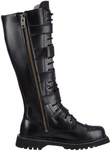 Pleaser Boots Pleaser Black Men's Leather Men's U8qv8xS