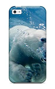 Special Design Back Polarbears Phone Case Cover For Iphone 5c