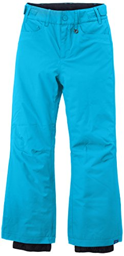 Roxy Big Girls' Backyards Girl Snow Pant, Hawaiian Ocean, 8 by Roxy