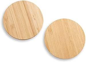 Round Acrylic Pour Coasters Handmade Acrylic Pour Wood Coaster 4 Acrylic Pour Coasters Painted Wood Coaster Set Blue Green Drink Coaster Set