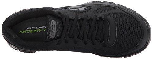 43 Advantage Sneakers Nero Skechers 58352 bbk Zizzo Flex Pzwgx0qa