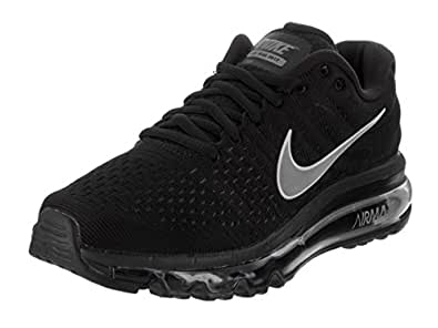 NIKE Womens Air Max 2017 Running Shoes Black/White/Anthracite 849560-001 Size 6