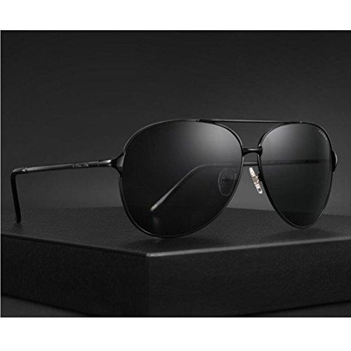 de Metal Conducción Hombre Sol Súper con Aviador PARZIN polarizado 400 Gafas MG UV Marco Ligero De Protección de Al qE0wRdZ