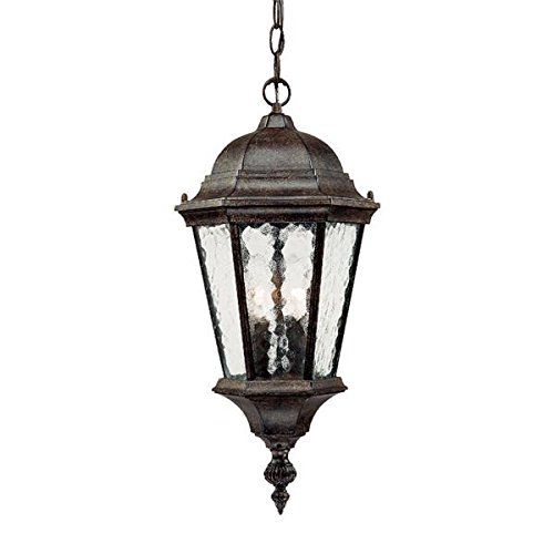 Hammered Glass Outdoor Lighting in US - 7