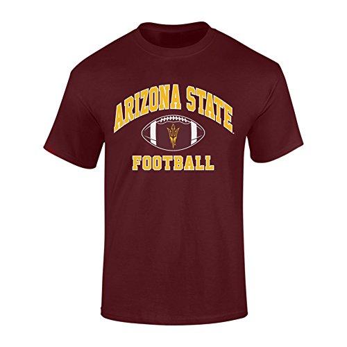 (Elite Fan Shop Arizona State Sun Devils Tshirt Maroon - L)