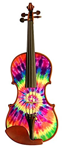 Rozanna's Violins TD9034 Tie Dye I Violin Outfit, 3/4 (Violins For Girls)