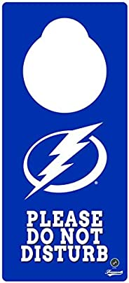 Frameworth Tampa Bay Lightning Door Knob Hanger, One Size, Blue