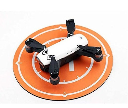 Drone Landing Pad, Remote Control Drones Display Shock Absorber Mat, Suitable for RC Helicopters, Quadcopters, Drones, Syma Helicopters