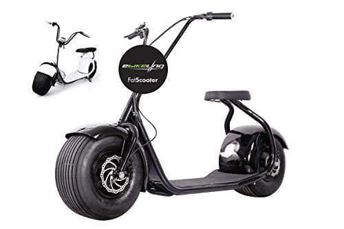 EBIKELING 60V 1000W Electric Lifestyle Scooter Fat Tire E-Bike ebike Review