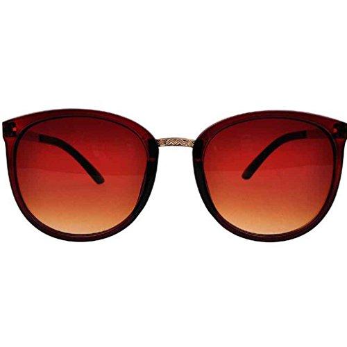 de de gafas mujeres retro UV400 ordenador de de de sol protección metal Mengonee marco las Gafas 4 sol las lentes moda de resina qz78xYX