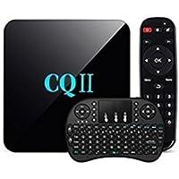 Seetwo CQII Android TV Box Amlogic S905X Quad Core 4K Ultra HD 1G RAM 8G ROM + Multifunctional Wireless Keyboard