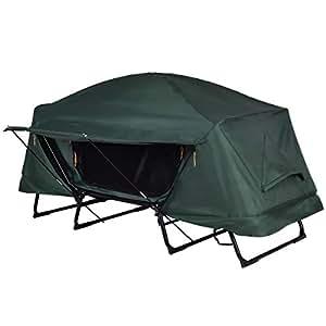 Plegable resistente al agua 1persona Camping tienda de campaña w/bolsa de transporte