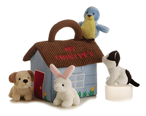 - ebba My First Pet Carrier, Plush Animals with Sound