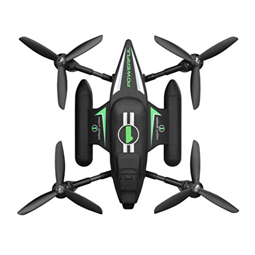 Price comparison product image WLtoys Q353 Triphibian 2.4G 6-Axis Air-Ground-Water RC Quadcopter-Pre-order H9K1,  Tuscom (Orange)