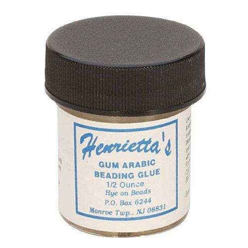 Henriettas Gum Arabic Glue for Beading/Quilting/Crafting Knots