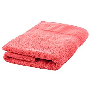 Cotton World Cotton Bath Towel - Red