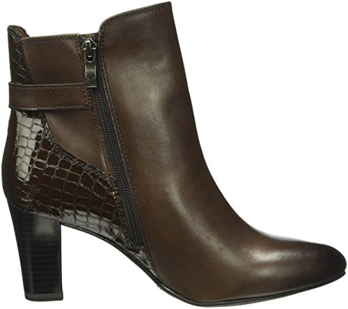 328 Boots Dk Women's Comb Brown 25344 Caprice Ankle Brown TOgwnxUq8