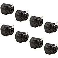 Seismic Audio - SAPT50 (8 Pack)- XLR 1/4 Combo Jacks - Dual Function Panel Mount Connectors