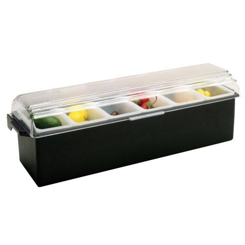 Traex 4743-06 Kondi-Keeper Black 6 Pint Condiment Dispenser