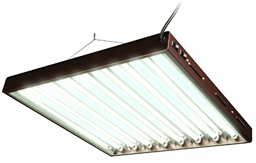 Agrobrite Designer T5, FLP28, 192W 2 Foot, 8-Tube Fixture with Lamps