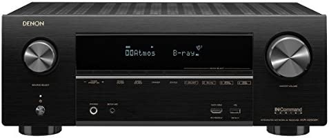 Denon AVR-X1500 Receiver 4K Ultra HD Video Home Theater Dolby Surround Sound Renewed