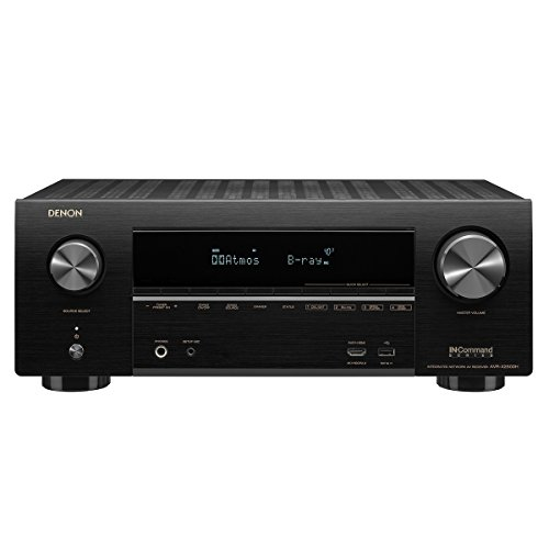 Denon AVR-X2500H Receiver - HDR10, 3D video support | 7.2 Channel (95W per channel) 4K Ultra HD Video | Home Theater Dolby Surround Sound | Discontinued by Manufacturer