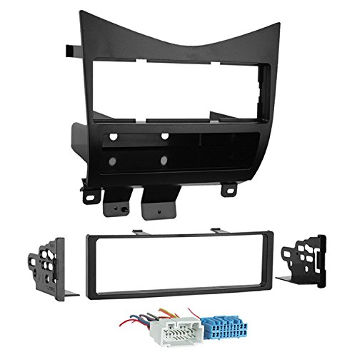 (Metra 99-7862 Lower Dash Single DIN Installation Kit for 2003-2004 Honda Accord with Wire)