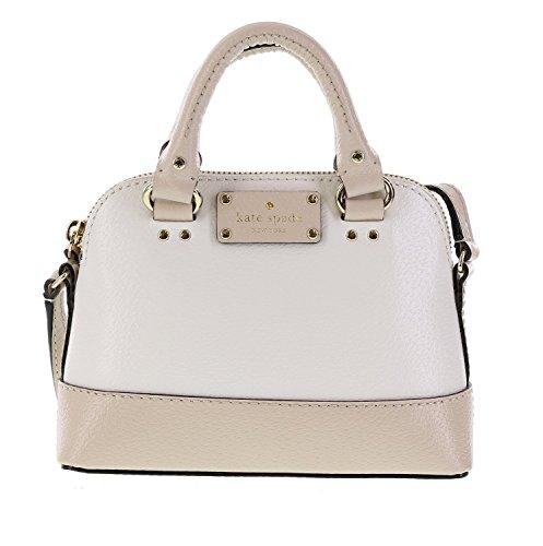 Kate Spade Wellesley Mini Rachelle Handbag Shoulder Bag Crossbody (Cream Handbag Purse)