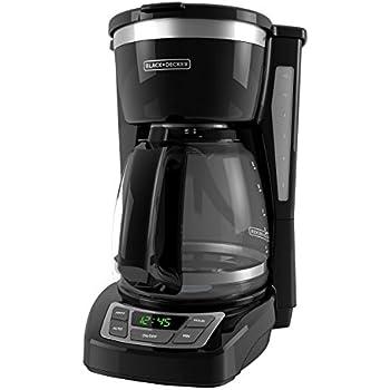 Amazon BLACK DECKER 5 Cup Coffeemaker with Duralife Glass