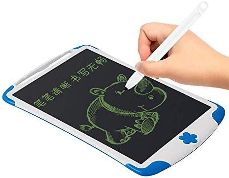 """Dmxiezib 8,5"""" -LCD-Glow Art Zeichenbrett, löschbare aufleuchtende LED Light Up Black Board mit Standplatz-Markierungen for Kinder Zeichnung in der Schule HomeTraveling die beste Geschenk for Kinder"""