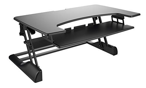 "Ergotech 42"" Black Freedom Desk (FDM-DESK-B-42)"