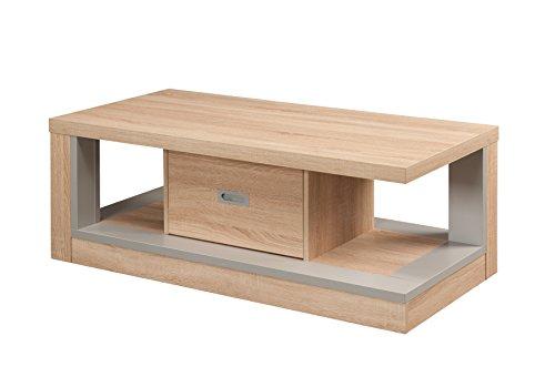 247SHOPATHOME IDI-14999CT Bemus Coffee Table, Sand/Silver