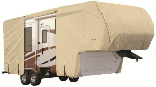Goldline-Premium-Long-Life-RV-Cover-for-5th-Wheel-Motor-Home-Fits-42-44-Foot-Tan