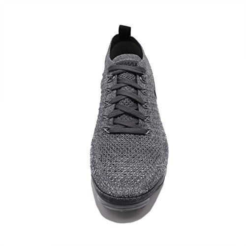 Sneakers Black Femme Dark Vapormax Black Grey NIKE Grey 2 W Multicolore Basses Flyknit Wolf 002 Air xXn6Sqa