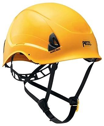 Petzl a20bya Alveo Best ligero casco para trabajo en altura y rescate, amarillo