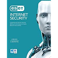 ESET Internet Security including Antivirus 1 Device 1 Year License KEY (Electronic delivery Available)