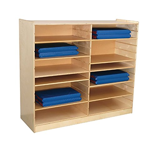 Wood Designs WD50406 Shelf Packs (Box of Six) for WD50400 (Wood Designs Cubby)