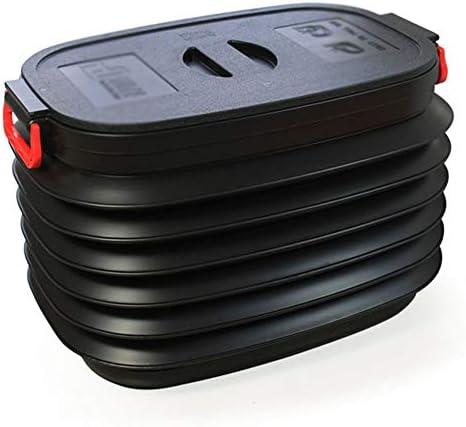 カーオーガナイザートランク ふた付きのストレージビン - 取り外し可能なカバー、折りたたみ食料品の保管と貨物自動車のトランクオーガナイザー - 2つのサイズから選択します -カーアクセサリー (Size : 37L)