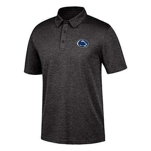 Top of the World NCAA Men's Penn State Nittany Lions Dark Heather Carbon Polo Black Heather Large ()