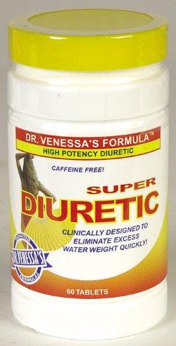 Dr Venessa de formules Diurétique Super 60 onglet (Multi-Pack)