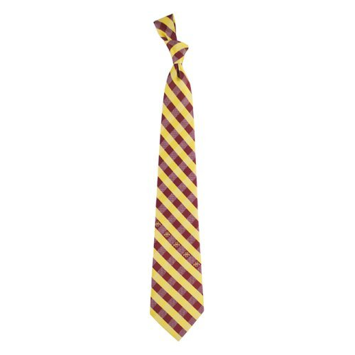 Iowa State Check Poly Necktie