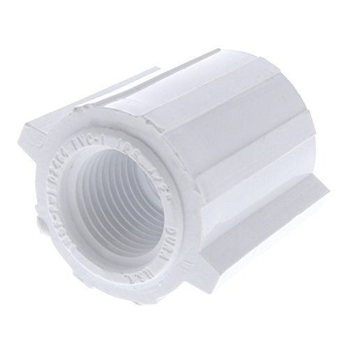 Drip Depot Schedule 40 PVC FPT Reducing Coupling - FPT Size : 3/4
