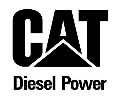 CAT Caterpillar Diesel Power Logo'd Full Color Window Decal Sticker