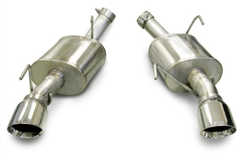 07 Mustang Gt Axle (CORSA 14314 Stainless Steel Xtreme Axle-Back Exhaust System Kit with 4